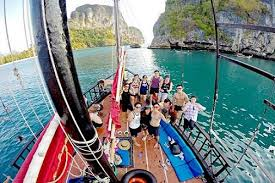 siamsmiletravel - sunset cruise by yacht