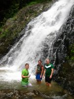 siamsmiletravel-cycling waterfall phanombencha