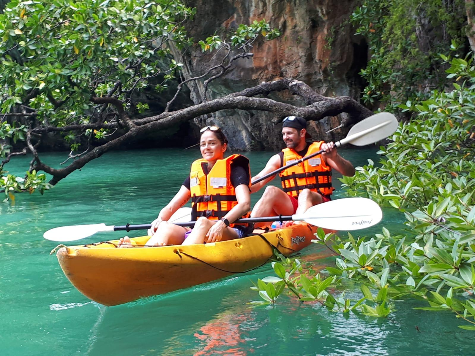 siamsmiletravel-sea kayak at hong island